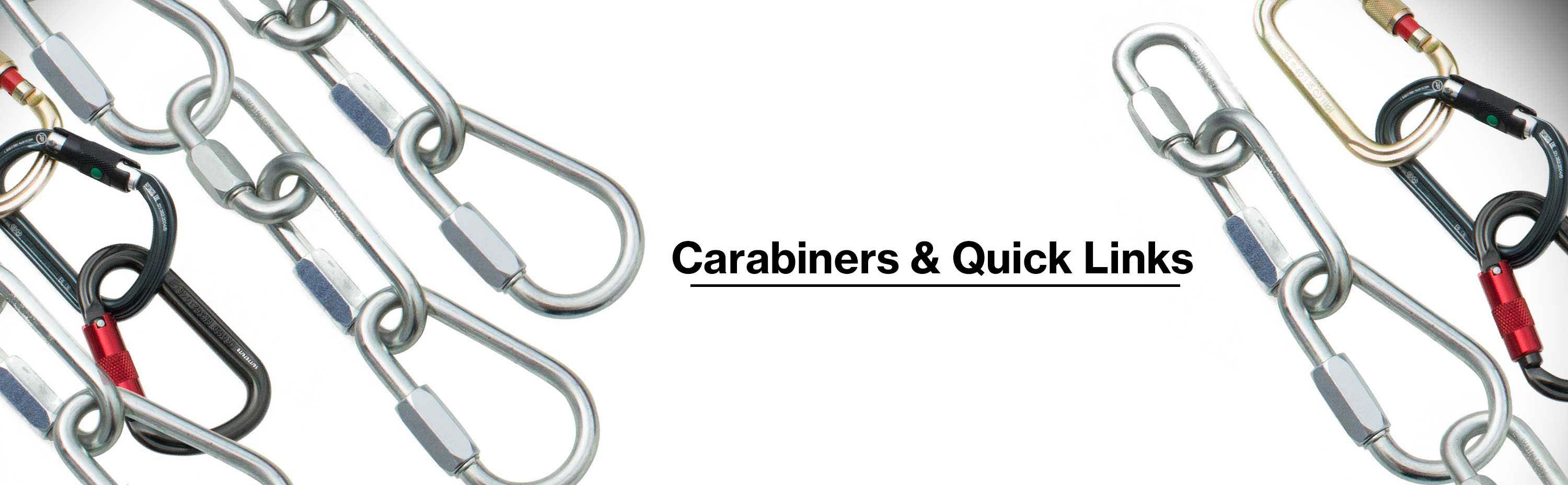 Carabiners and Quick Links