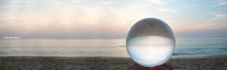 Crystal Clear Contact Juggling Balls