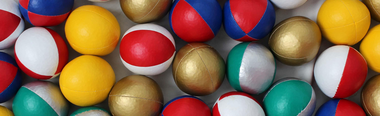 Thud Juggling Balls