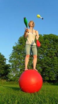 Juggling is hard. Copyright Chanice Palmer