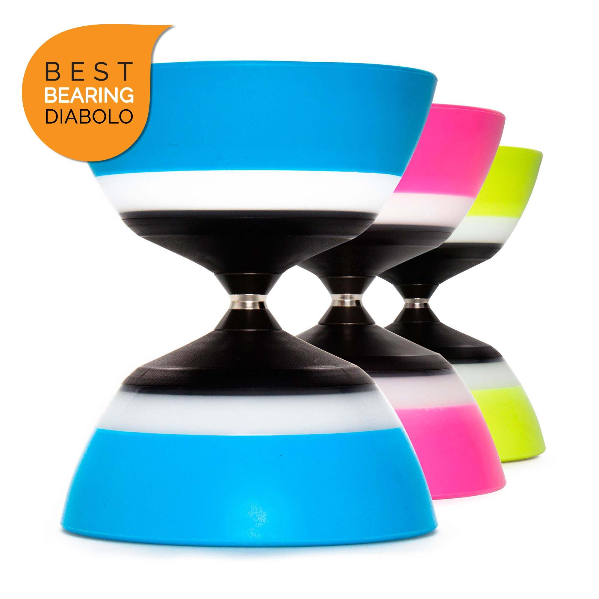 Sundia Evo 5° Diabolo - The Best Large Bearing Axle Diabolo